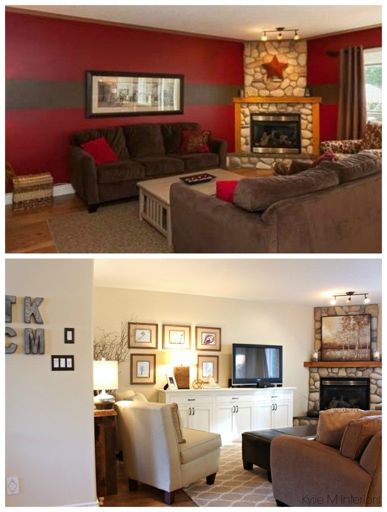 decorate my living room online gray couch idea before and after. a with tv ...