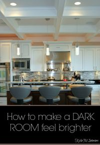 How to FIX a Dark Room  And it Ain't With Paint!