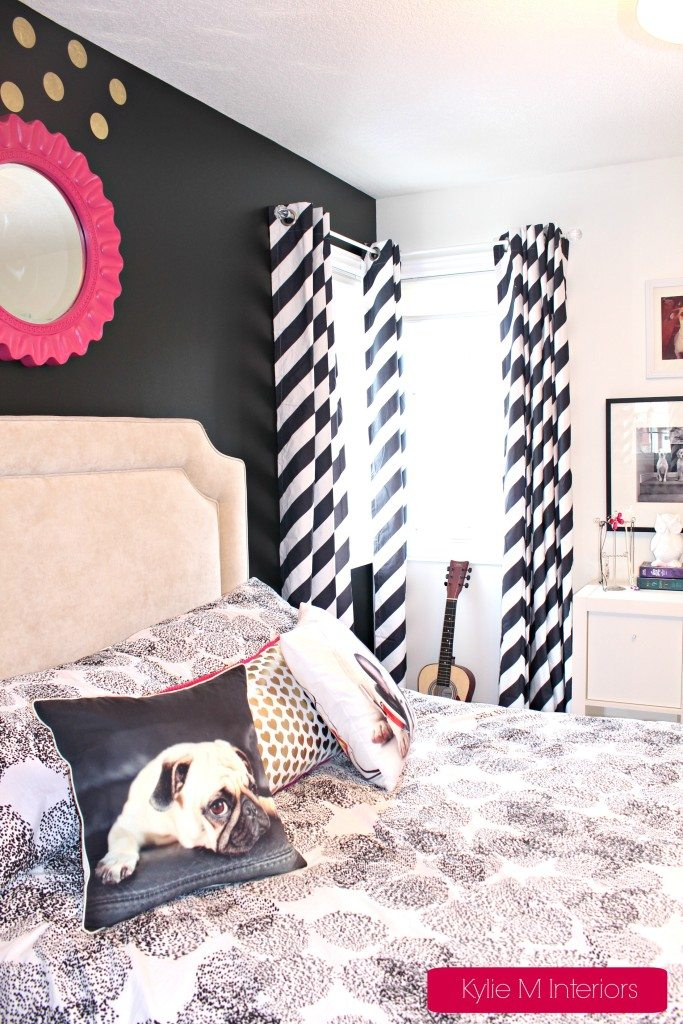 Girls Bedroom Black Is The New Pink