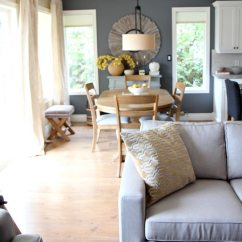 Decorate My Living Room Online Cheapest Furniture Modern Country Or Farmhouse Style Open Concept Dining ...