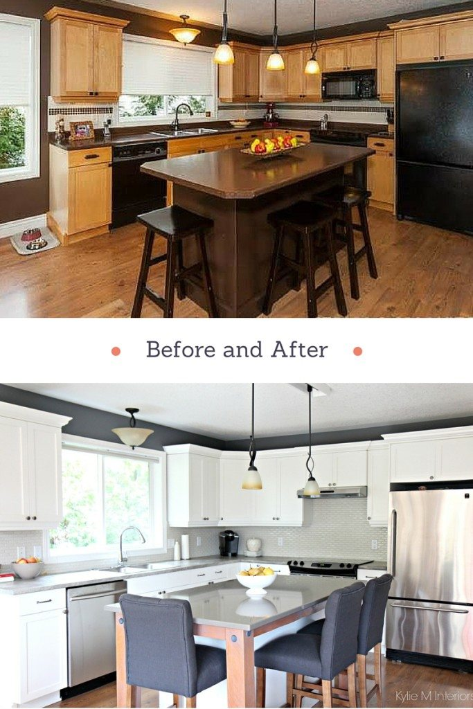 Our Kitchen Makeover  No More Maple