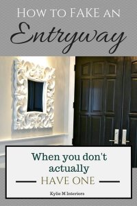 5 Ideas: How to MAKE an Entryway When You Don't...