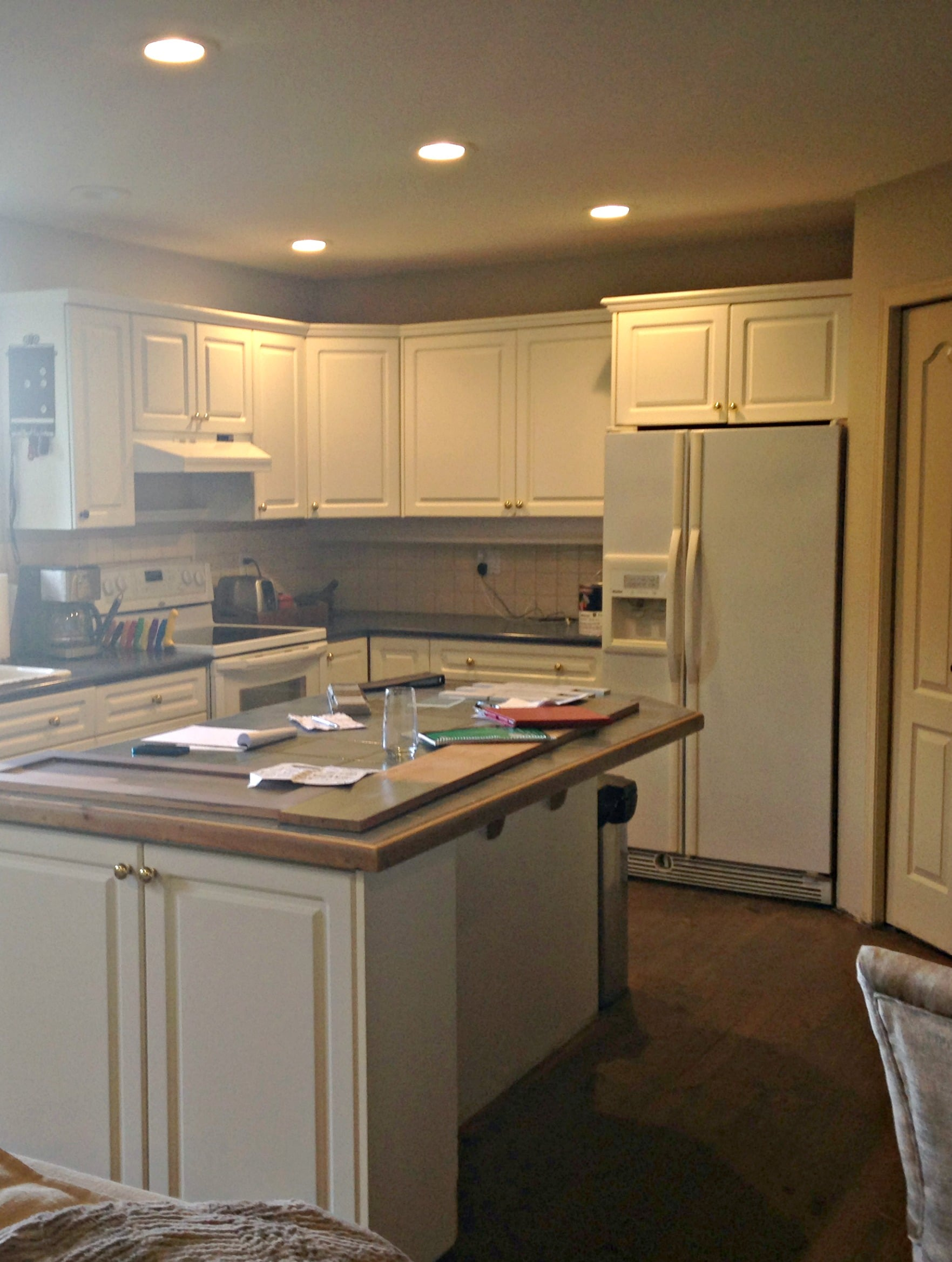 kitchen upgrade ideas commercial flooring options white before update