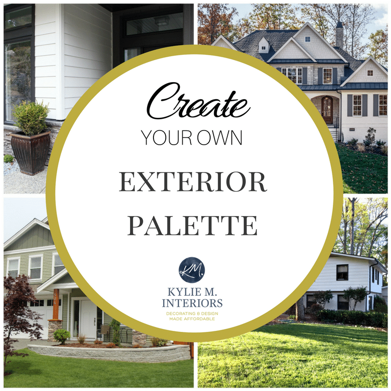 CREATE YOUR OWN Exterior Palette  Kylie M Interiors