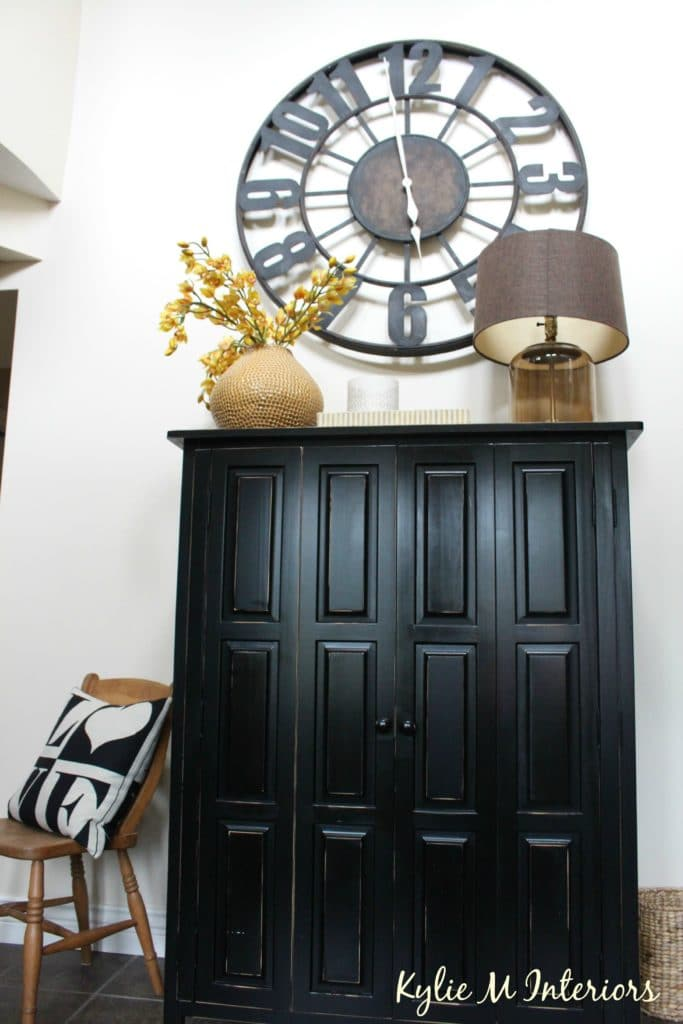 affordable kitchen remodel sideboard cabinet how-to-paint-a-2-storey-tall-wall-using-lrv-tips-and-ideas ...