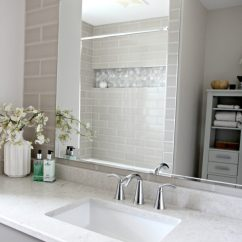 Kitchen Faucet Moen Rohl Faucets Bathroom With Subway Tile Wall Behind Vanity. Bianco Drift ...