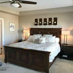 Best Neutral Paint Colors For Living Room Sherwin Williams Common Rooms Barcelona Beige Colour Bedroom With Carpet Dark Wood Furniture Kylie M Edesign