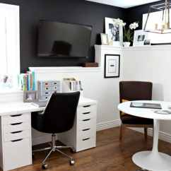 What Is The Best Paint For Kitchen Cabinets Ikea Designs Kylie M Interiors Home Office With Sherwin Tricorn Black ...