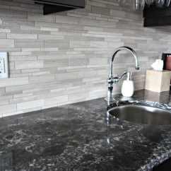 Travertine Kitchen Backsplash Bar Counter Cambria Ellesmere Quartz Countertop Wtih Mrable ...