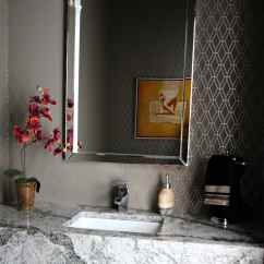 Best Paint Colours For Small Living Room Tv Mounting Ideas In Bathroom, Powder Room, Floating Vanity. Cambria ...