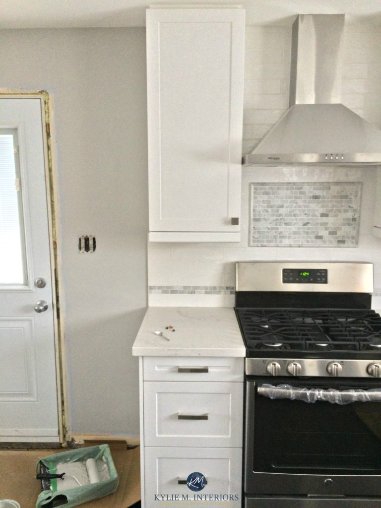 Zircon Sherwin Williams Wiwth White Kitchen Marble And