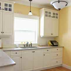 Oak Cabinet Kitchen Backsplashes In Kitchens 4 Ideas How To Update Wood Cabinets Benjamin Moore Suntan Yellow With Quartz Painted Cream Similar White