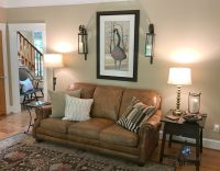 Benjamin Moore Lenox Tan, farmhouse country style living ...