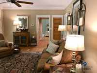 Benjamin Moore Lenox tan in farmhouse country style living ...