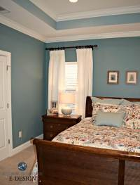 Kylie M E-design, Sherwin Williams Moody Blue and ...