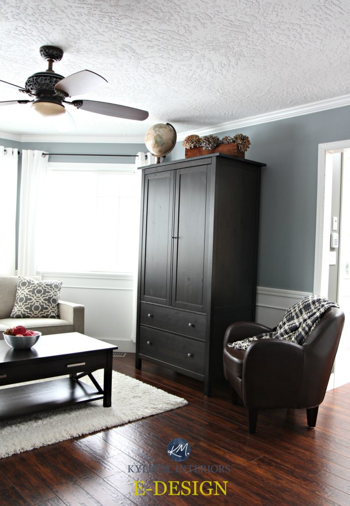 new colours for living rooms room large wall decorating ideas sherwin williams network gray with black armoire and ...