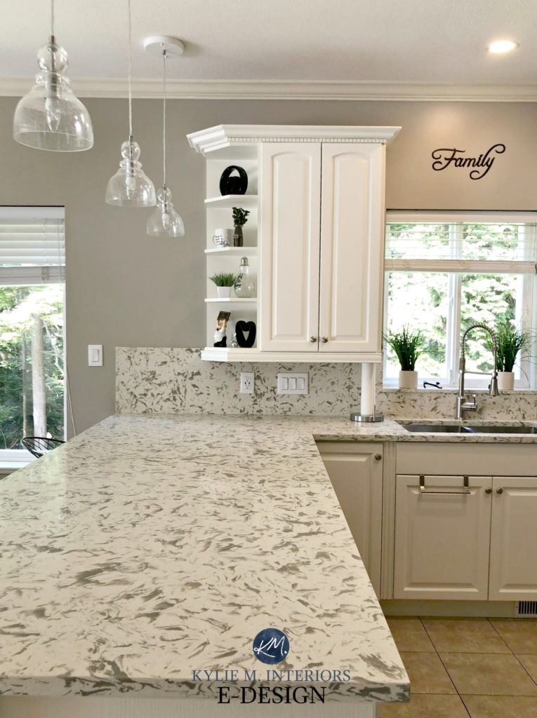 light oak kitchen cabinets island with granite top and seating the best mushroom paint colours – benjamin sherwin