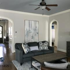 Paint Colors For Living Rooms With White Trim Victorian Decorating Ideas Room Benjamin Moore Collingwood Best Warm Gray Colour Silver Ceiling Sherwin Dover Contemporary Kylie M Interiors Edesign