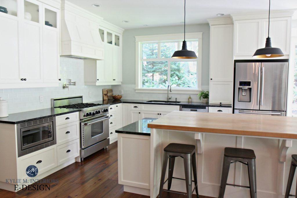 Farmhouse Country Style Kitchen Cloud White Cabinets