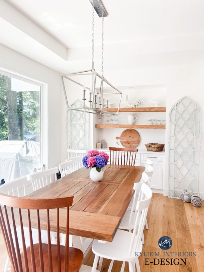 the right height to hang light fixtures