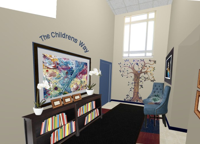 Nursery school - foyer re-design project kylie T Interiors