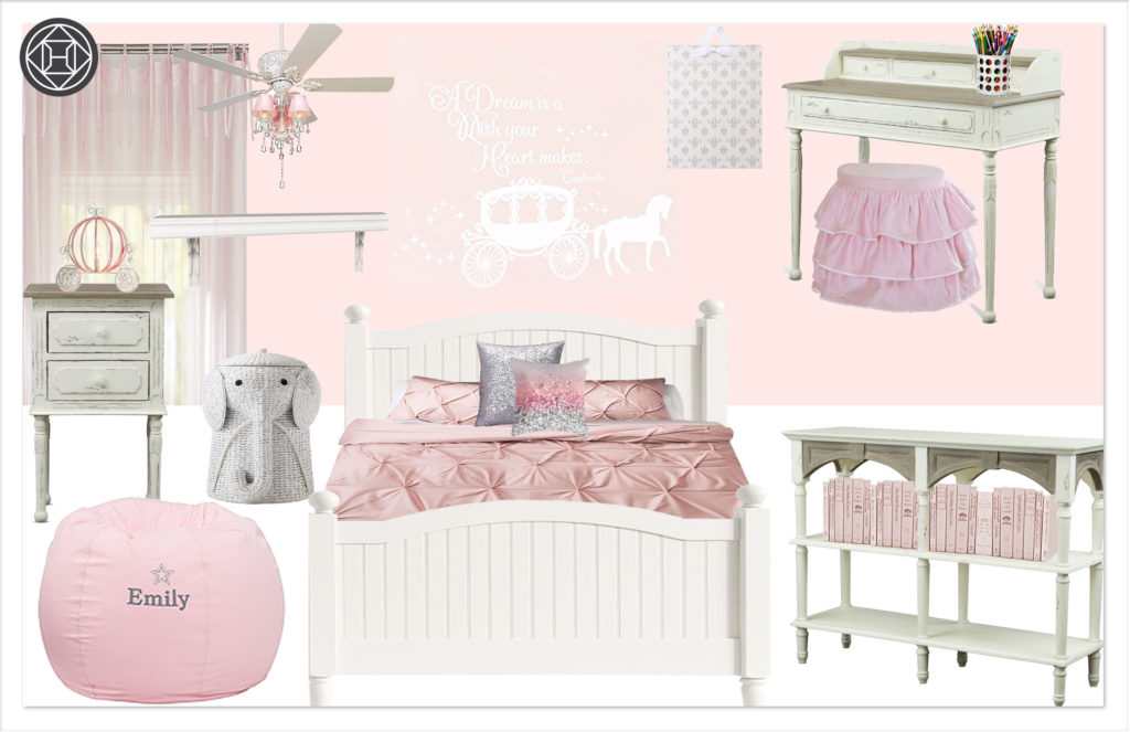 Girls Bedroom 1 Kylie T Interiors