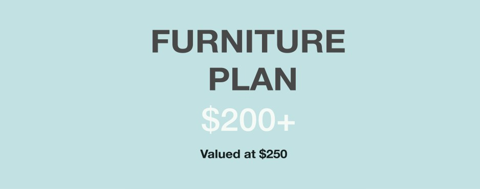 kylie t interiors Furniture Plan - fitting your furniture