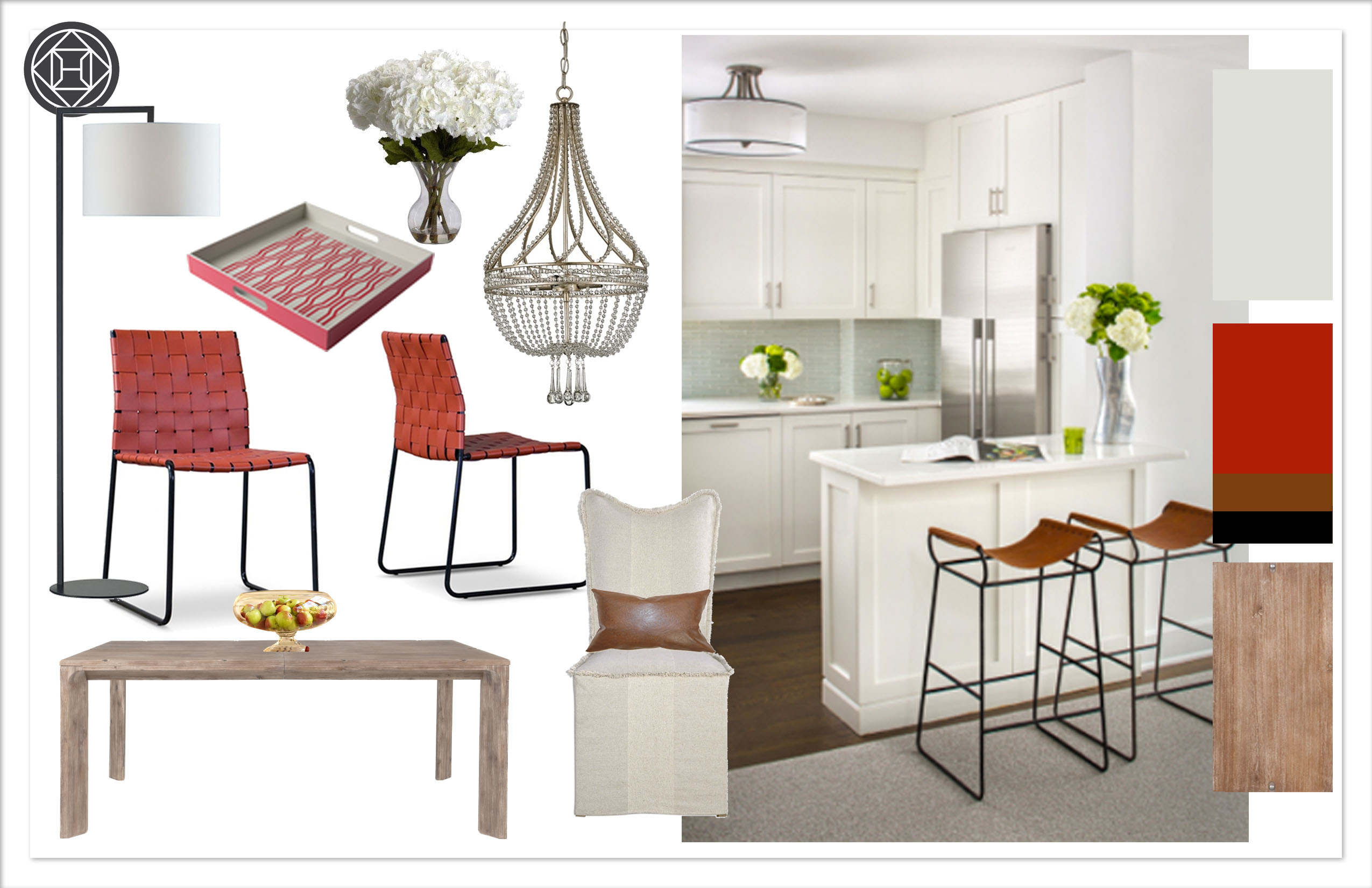 Kylie T Interiors Dining Room 1