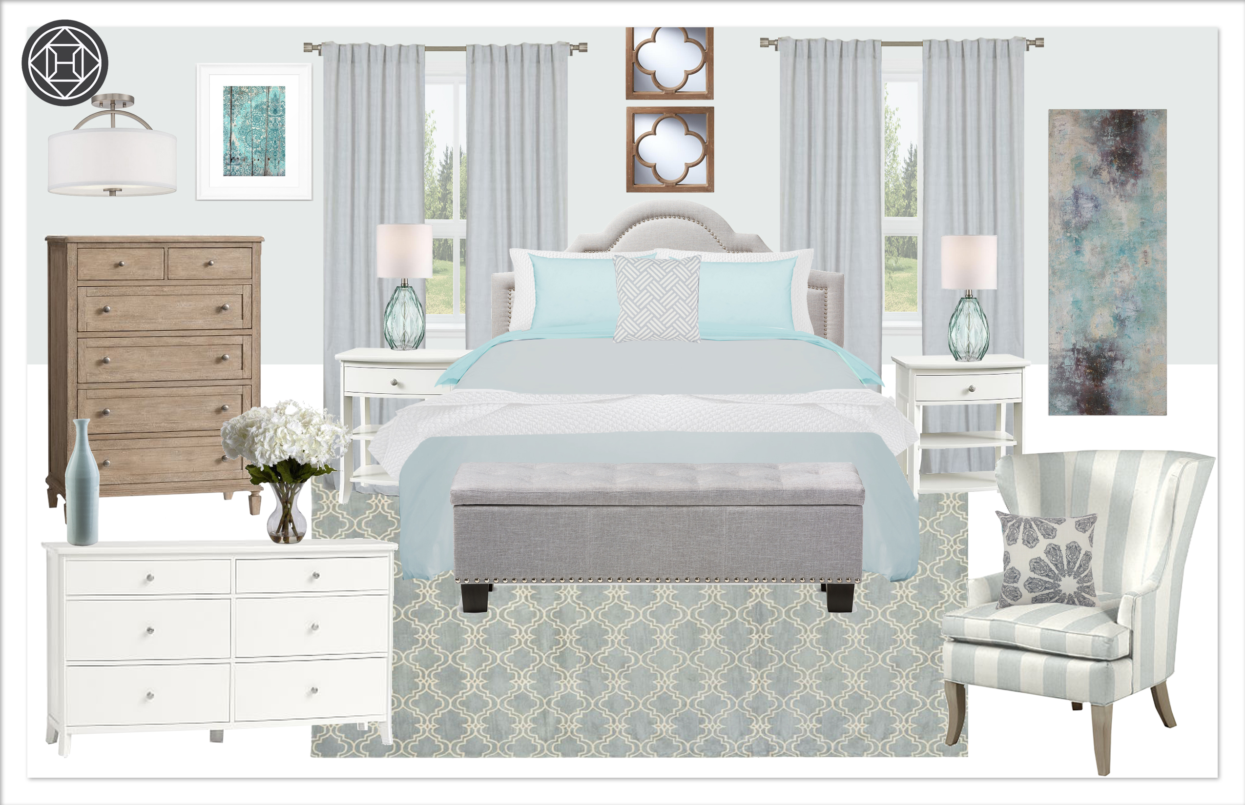 Master Bedroom 6, C3, Kylie T Interiors