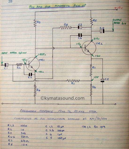 Music Vision Circuit Circuit Diagram Tradeoficcom