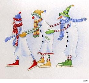 Lollystick Snowpeople - d5640