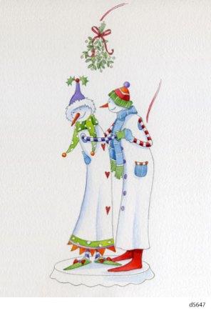 Lollystick Snowpeople - d5647