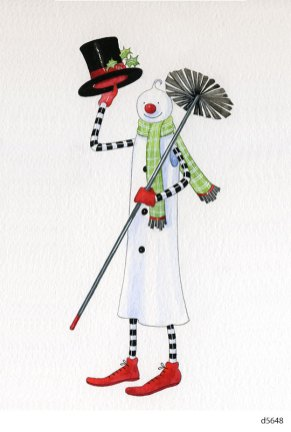 Lollystick Snowpeople - d5648