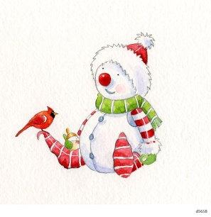 Lollystick Snowpeople - d5658