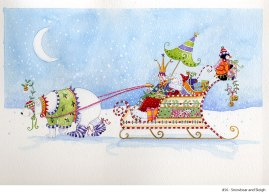 Holiday Fun - d56SnowbearandSleigh
