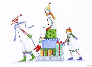 Lollystick Snowpeople - kyb526