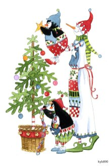 Lollystick Snowpeople - kyb890