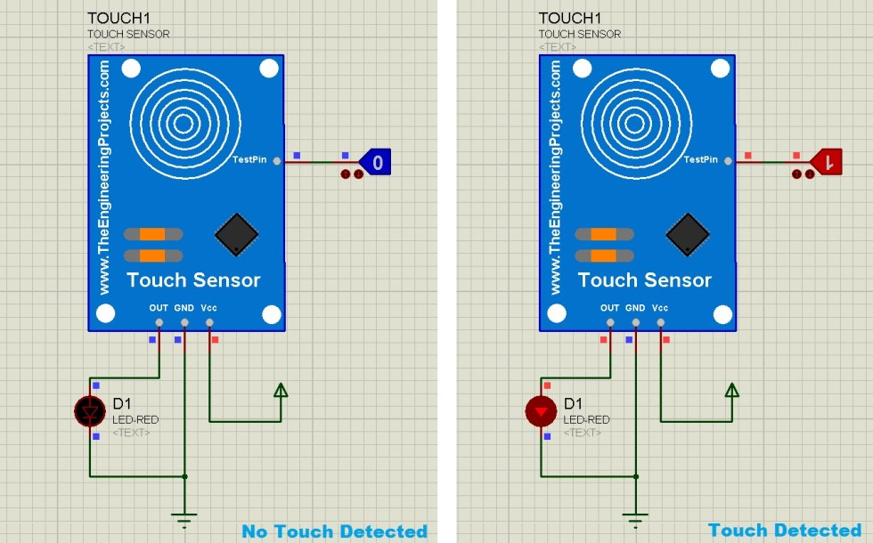 Capacitive Touch Sensing of Sensors