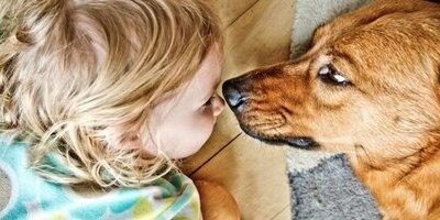 Kind-Hond; Misschien moet ik…