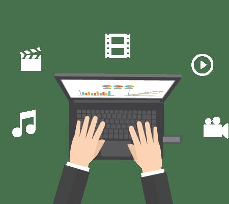 audio-et-vidéo-sur-du-rose