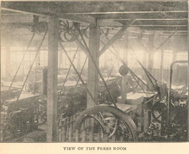 明治末頃の教文館印刷所(1906-1907)