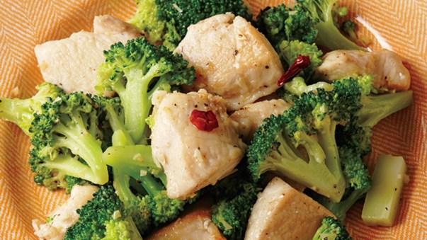 鶏むね肉とブロッコリーのガーリックソテー レシピ 田口 成子さん |【みんなのきょうの料理】おいしいレシピや献立を探そう