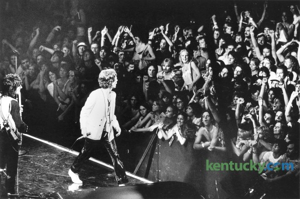 Rolling Stones Perform Rupp Arena 1978 Kentucky Archive
