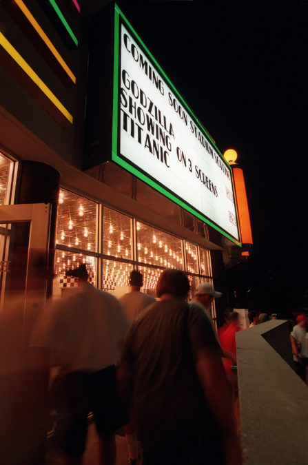 Woodhill movie theater 1998  Kentucky Photo Archive