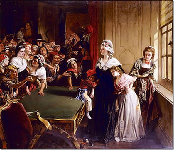 Marie Antoinette and her children 20th_June_1792