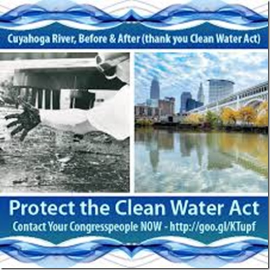 before and after clean water act
