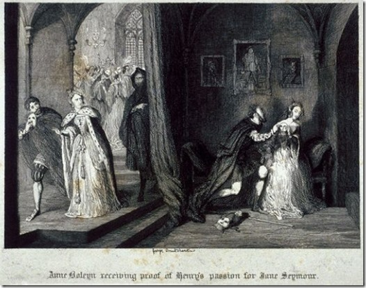 Anne catches Henry VIII wooing Jane