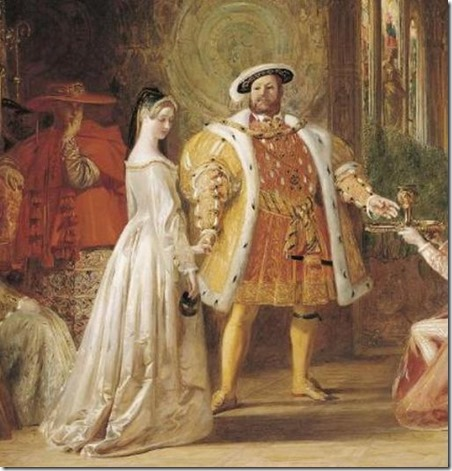 Henry VIII courting a new love