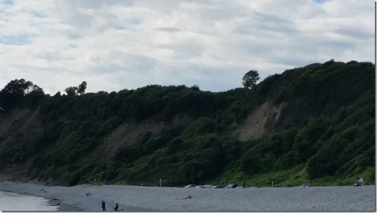 Cliffs at Barry Island
