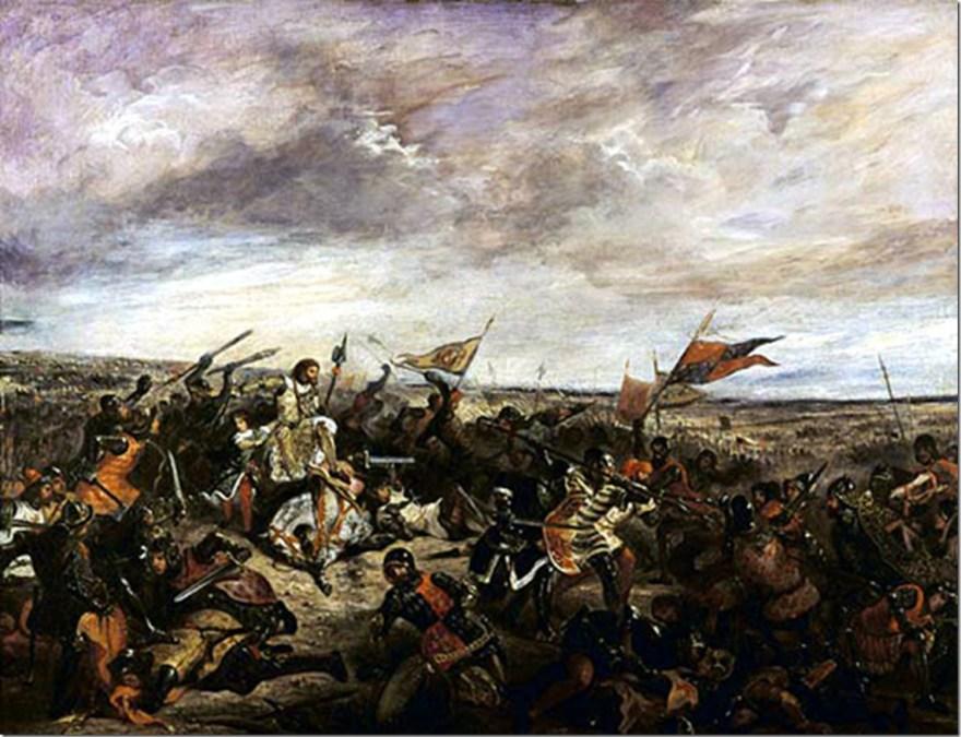 Battle_poitiers Delacroix